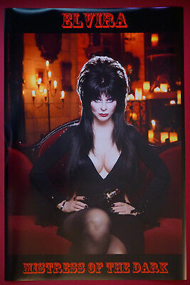 Elvira Mistress of the Dark Horror Movie Art Picture Poster 24X36 New