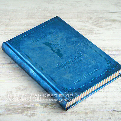Vintage Blue The Vampire Notebook Diary Journal Schedule Planner Notepad Book #B