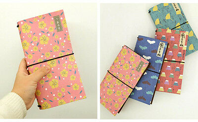 """Windy"" Cardboard Cover Notebook Diary Journal Planner Schedule Sketchbook #B"