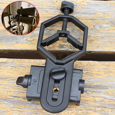 Mobile Smart Phone Telescope Adapter Holder Stand Mount Bracket Spotting Scope