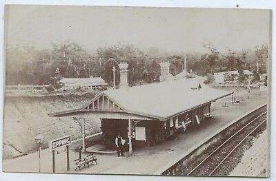 C.1910 Rp Postcard Epping Railway Station Nsw Very Good Postally Unused Cond Y58