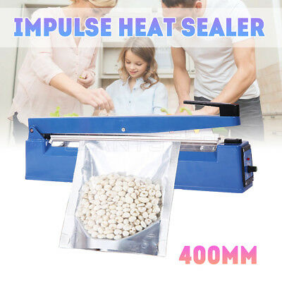 Portable Heat Impulse Sealer Electric Poly Bag Sealing Hand MachineElement Food