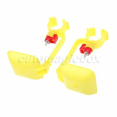 Convenient Poultry Chicken Bird Hanging Drinking Water Nipple Drinker With Cup