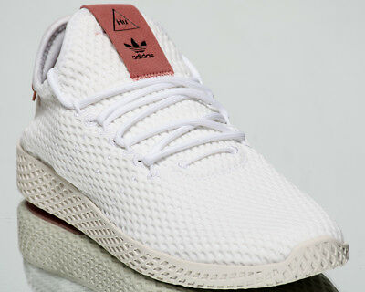 brand new d12b2 50dda ADIDAS ORIGINALS PHARRELL Williams Tennis Human Race new white cream pink  CP9763