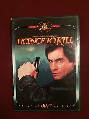 Licence To Kill (Special Edition) DVD Timothy Dalton Cary Lowell