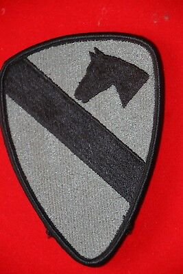 Original Us Acu 1St Air Cavalry Division Army Cloth Patch Badge Velcro ® Backed