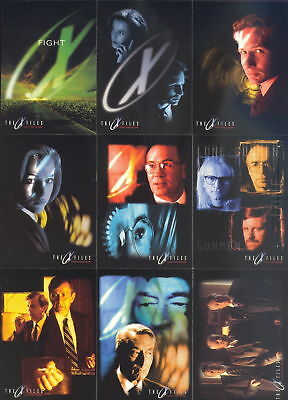 TC 1998 Akte X / X Files Trading Card Movie Satz von Topps 72 Karten