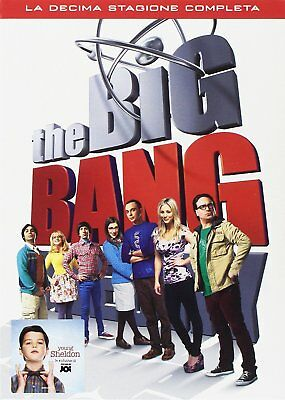 Big Bang Theory - Stagione 10 (3 Dvd)  Nuovo Originale e sigillato ITA