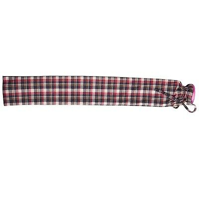 Warmies Extra Long Hot Water Red Tartan Bottle 80cm PVC Removable Cover