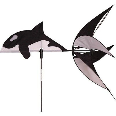 Wind Spinner killer Whale Premier Kites Garden decor Sea animals