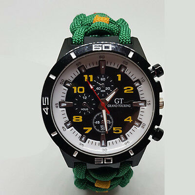 Paracord Watch with Devon and Dorset (DAD) Colours a Great Gift