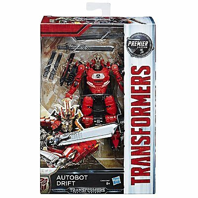 Transformers The Last Knight Premier Edition Autobot Drift Action Figure