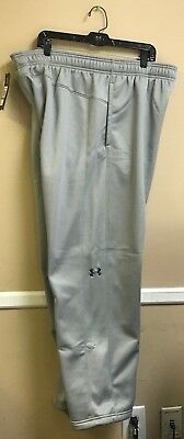Under Armour Double Threat Sweatpant Color True Grey Multiple Sizes Avl(1295287)