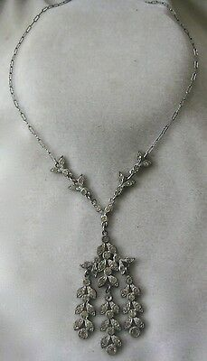 French Paste Art Deco 1920s Vintage Necklace