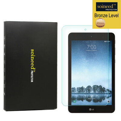 SOINEED Tempered Glass Screen Protector For LG G Pad F2 8.0 Sprint LK460 Tablet