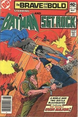 DC Comics The Brave and the Bold #162 Batman SGT Rock May 1980 VF+