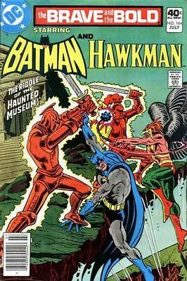 DC Comics The Brave and the Bold #164 Batman Hawkman July 1980 VF+