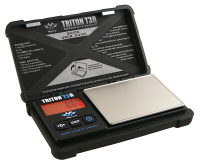MyWeigh Triton T3R-500 Digitalwaage Feinwaage 500g / 0,01g Münzwaage Goldwaage