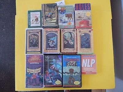 Lot of 12 Mixed Audio Books on Cassettes. L129