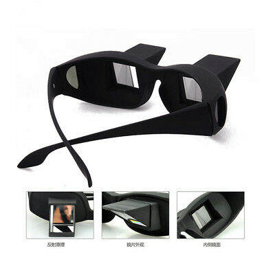Lazy Creative Periscope Horizontal Reading Watch TV On Bed Lie View Glasses XA