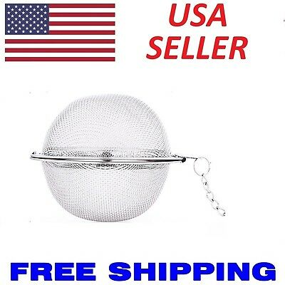 Stainless Steel Mesh Tea Ball Tea Infuser Seasoning Strainers Different Size