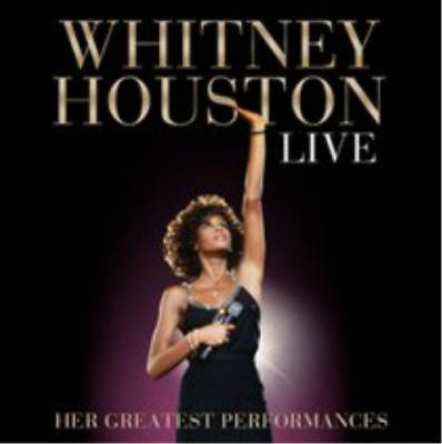 Whitney Houston-Live: Her Greatest Performances  (US IMPORT)  CD with DVD NEW