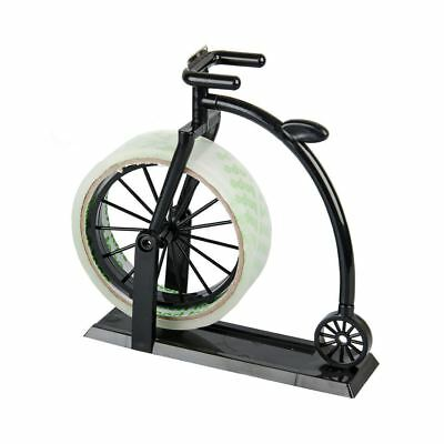 Vintage Office Penny Farthing Bicycle Bike Sellotape Tape Dispenser