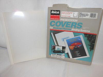 ibico Presentation Covers for desktop thermal binding systems-set of 10