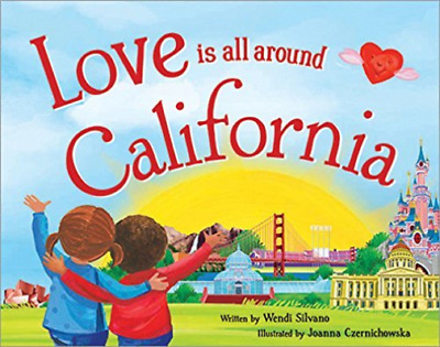 Silvano Wendi/ Czernichowsk...-Love Is All Around Califor (US IMPORT)  HBOOK NEW