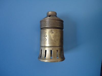 Old Vintage /Antique  Brass Porcelain Electric Socket