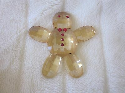 "Simon Designs Crystal 4.25"" Gingerbread Man, Retail: $ 35"