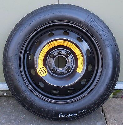 Ford Ka Fiat  Space Saver Spare Wheel  Inch