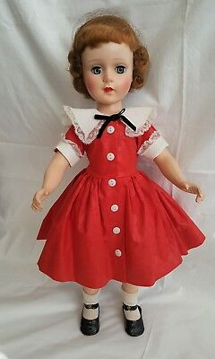 "MINTY ALL ORIGINAL 1950's American Character 20"" Sweet Sue Walker Doll Hair Net"