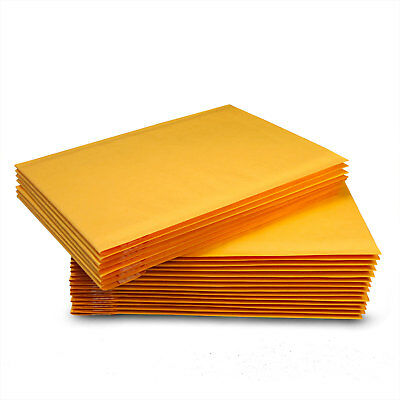 """5-2000 #2 8.5x12 Kraft Bubble Padded Mailers Seal Envelopes 8.5""""x12"""" 8.5""""x11"""""""