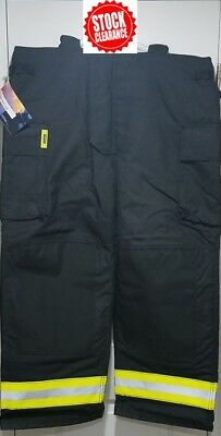 Securitex Ultramotion Firefighter Turnout Pant w/Suspenders (New)