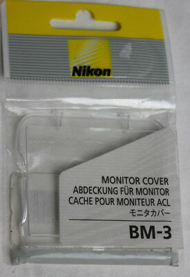 Nikon BM-3 Replacement LCD Monitor Cover for D2H D2Xs & D2x NEW