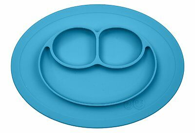 ezpz Mini Mat One-Piece Silicone Suction Placemat for Baby/Toddler