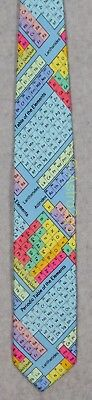 PERIODIC TABLE OF THE ELEMENTS-CHEMISTRY SCIENCE Wild Ties Microfiber Necktie