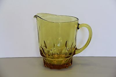 One Amber 54oz Pitcher Continental Can Company - Hazel Atlas