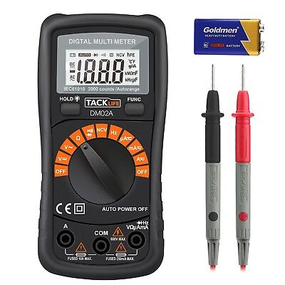 Klassisches Digital Multimeter Auto Range Multi Tester mit Non Contact Voltage