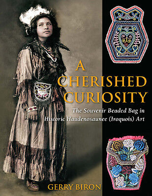 Large, Hardcover Book on Iroquois Indian Beadwork, Beaded Bags