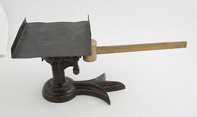 USPS Antique Postal Scale (HSE2-2) Fairbanks Crow Foot Square Top