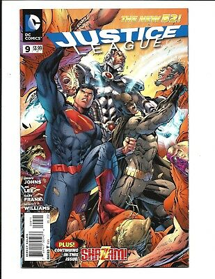 Justice League # 9 (Dc Comics, The New 52! - July 2012), Nm
