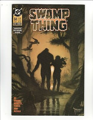 Swamp Thing #64 -Last Alan Moore issue - 9.2 Near Mint - High Resolution Scans!