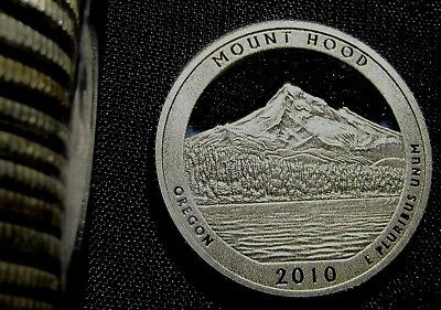 2010-S 25C Mount Hood NP Silver CA (Proof) America the Beautiful Quarter