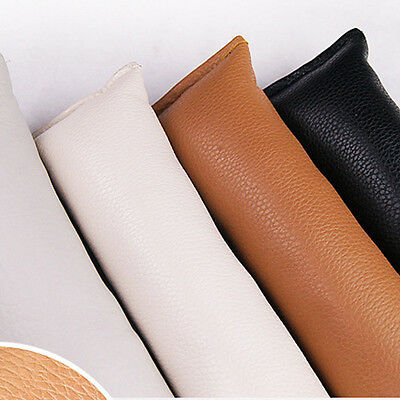 1pcs PU Leather Car Seat Gap Filler Leak Proof Soft Pad Spacer Blocker New