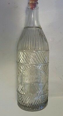 """Rare Canadian (Montreal, Que.) """"meunier Frere"""" 28 Oz  Embossed, Clear Bottle"""
