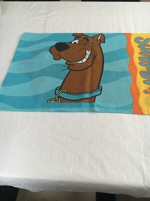 Scooby Doo Double Sided Pillow Case 1998 Hanna Barbara