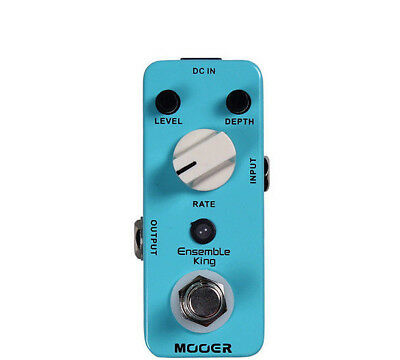 Mooer Ensemble King- Analog Chorus effects pedal - Special Purchase