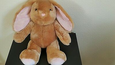 "Build A Bear 17"" Beige Bunny Soft Plush Stuffed"